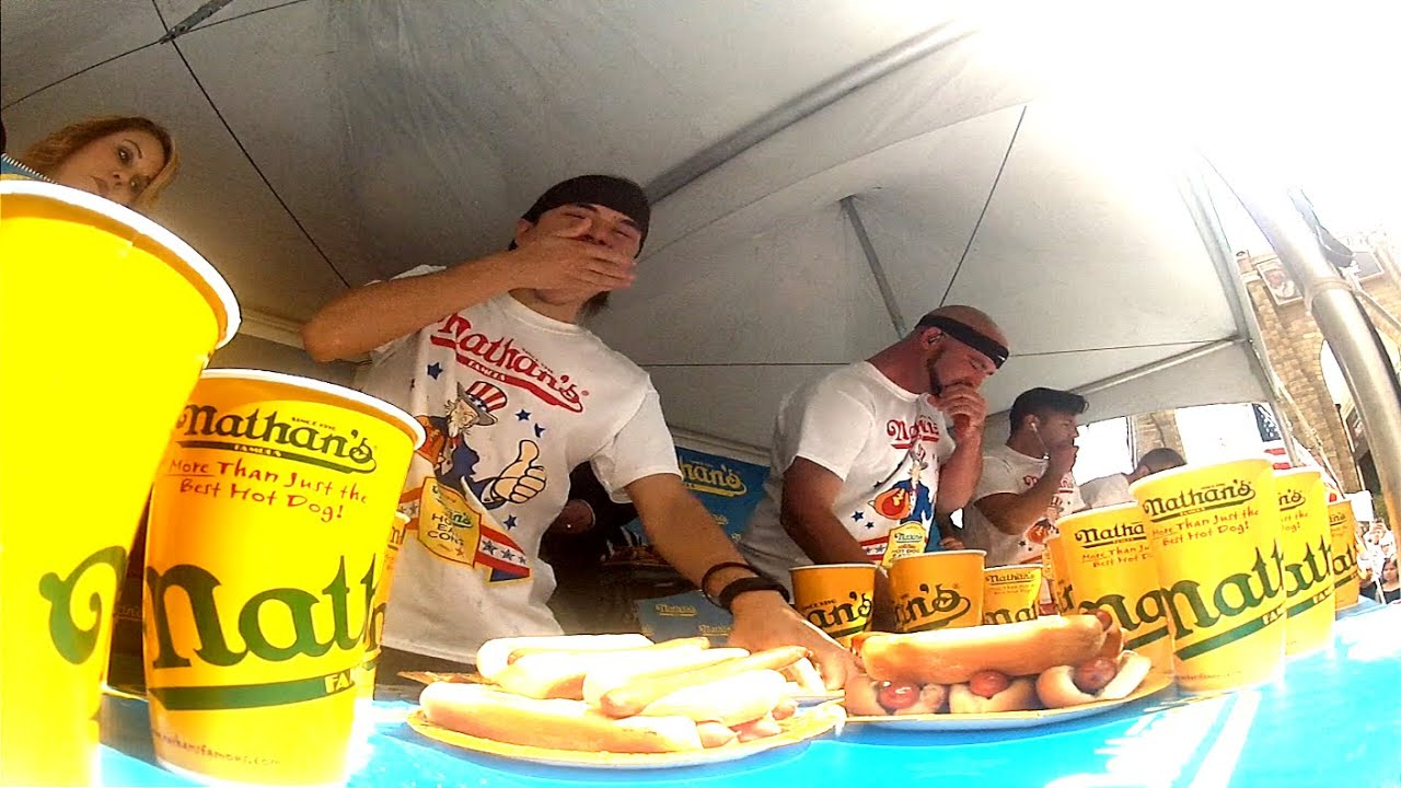 Nathans Hot Dog Contest Qualifier, Las Vegas 2015 thumbnail
