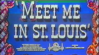 Opening to Meet Me in St. Louis 1982 VHS