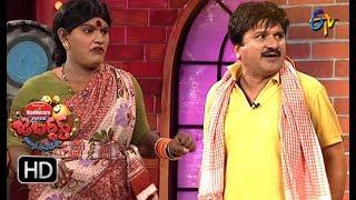 Rocket Raghava Performance | Jabardasth |  23rd August 2018 | ETV  Telugu