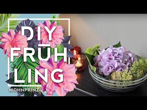 Wasser Blumenschale | Deko Inspiration #WOHNPRINZ