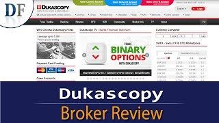 Dukascopy Review 2018 - By DailyForex.com