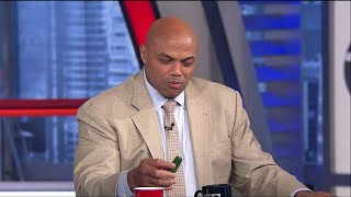 EJ's Neato Stat: Shaq and Chuck take the ALS Pepper Challenge   Inside the NBA   NBA on TNT