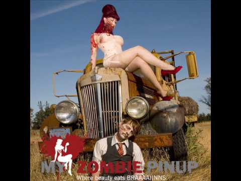 Pin-Up Ecards, TEMPTATION WITH HOT ROD Pin-Up