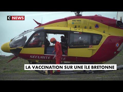 Covid-19 : opération vaccination sur une Í®le bretonne Covid-19 : opération vaccination sur une île bretonne