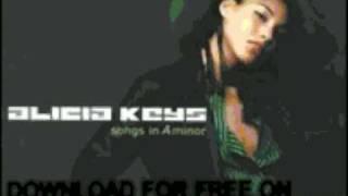 alicia keys - why do i feel so sad - Songs In A Minor
