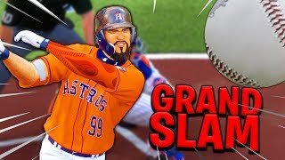 MY FIRST GRAND SLAM ON THE ASTROS! MLB The Show 20 | Road To The Show Gameplay #45