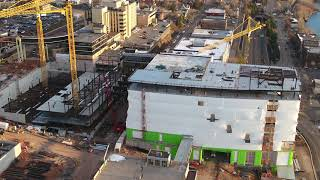 Watch the video - Vision Northland: Daytime Construction Site Drone Video, Dec. 4, 2020 - Essentia Health