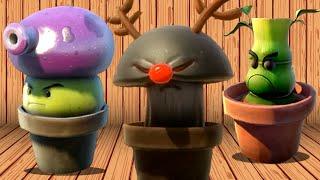 Plants vs. Zombies: Garden Warfare - Every Spawnable Plant!