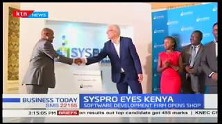 SYSPRO EYES KENYA: Software development firm opens shop
