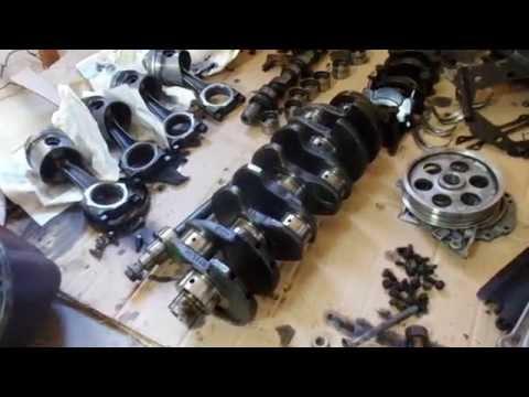 Фото к видео: Двигатель б/у на ауди 80 1.6 d (результат вскрития)