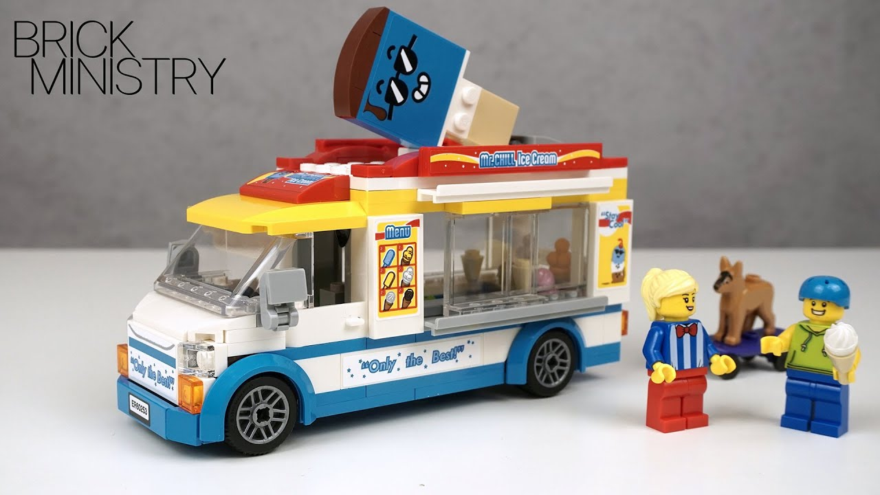 NEW! LEGO CITY 2020 ● Ice-Cream Truck ● Speed Build [LEGO 60253]