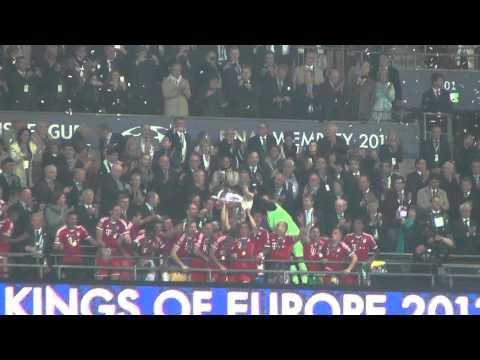 FC Bayern || Champions of Europe 2013 || Dortmund : FC Bayern 1:2