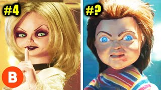 Creepiest Chucky Dolls In History Ranked