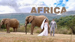 Niell and Sammy-Jo's Wedding Video | Askari Game Lodge