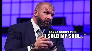 Something's happening to Triple H… He LITERALLY just made the BIGGEST confession on LIVE TV!