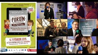 preview picture of video 'En direct du forum de l'orientation'
