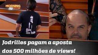 Joel veste Olavo de Carvalho e Adrilles fica careca | Morning Show