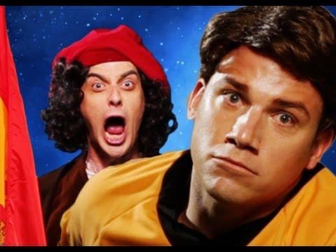 Kryštof Kolumbus vs. Kapitán Kirk