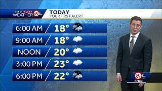 First Alert: Cold New Year's Day ahead