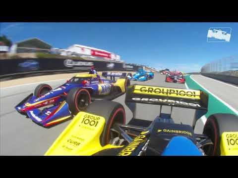 インディーカー第15戦 モントレー・グランプリ スタート直後のオンボード映像