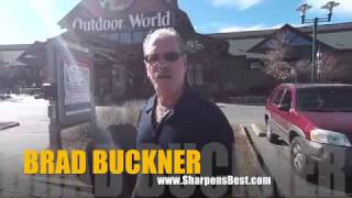 Buying over $400 in Knives at Bass Pro Shop Outdoor World to Sharpen