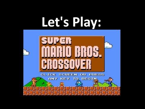 Let's Play: Super Mario Bros Crossover 3 0 - with Mega Man
