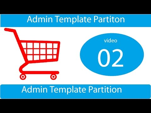 how to make admin template partition