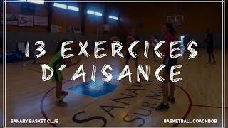 13 EXERCICES D'AISANCE 🖐⛹️♀️⛹️♂️
