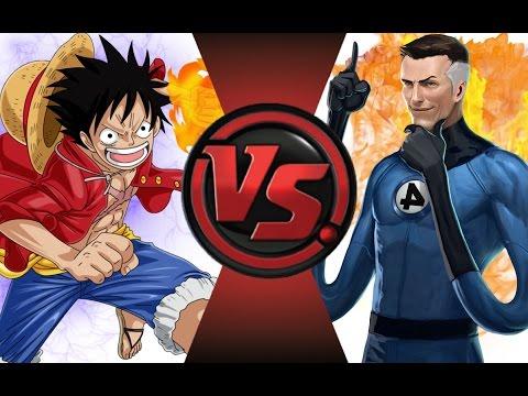 LUFFY vs MR.FANTASTIC! Cartoon Fight Club Episode 46
