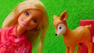 Barbie en español. Muñeca en zoológico.Vídeos para niñas.