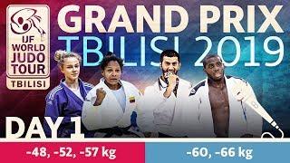 Judo Grand-Prix Tbilisi 2019: Day 1
