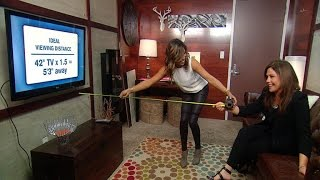 How to Measure the Right Distance Between Your TV and Couch