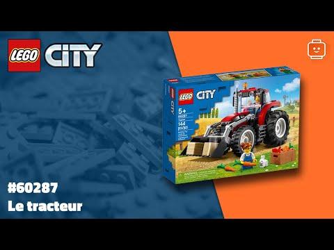 Vidéo LEGO City 60287 : Le tracteur