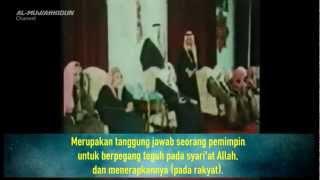 Seorang Syahid Raja Faisal bin 'Abd al 'Aziz Al Sa'ud yang Arif Berjihad Untuk Palestina