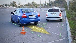Видео - Параллельная парковка задним ходом. Уроки вождения для начинающих.