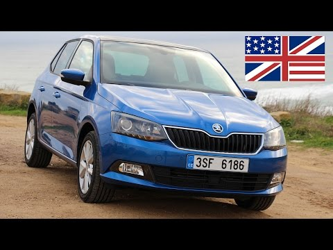 2014 Skoda Fabia 1.2 TSI Style - Start Up, Exhaust, Test Drive and In-Depth Car Review (English)