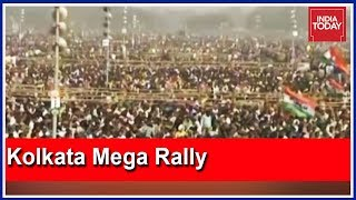 Live From Kolkata Brigade Ground | Mamata's Opposition Meet To Host 40 Lakh People