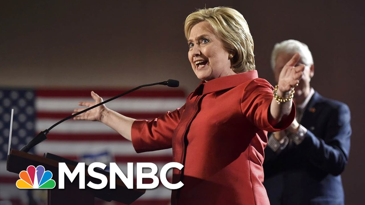 Hillary Clinton On Fundraising Swing After NV Victory | Andrea Mitchell | MSNBC thumbnail