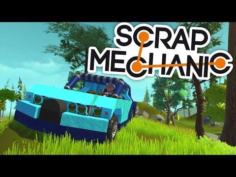 PORTY vs VENDALI! KDO MÁ LEPŠÍ AUTO? - Scrap Mechanic! w/Porty