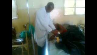 preview picture of video 'Goma: Les blessés de guerre en situation désespérée'