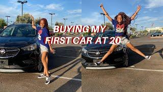BUYING MY FIRST CAR AT 20