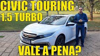 Honda Civic Touring 1.5 turbo 2021
