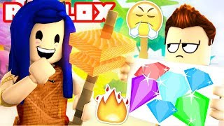 A TRAITOR JOINS OUR TRIBE? THIS MEANS WAR!   Roblox Booga Booga