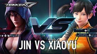 Tekken 7 - PS4/XB1/PC - Jin VS Xiaoyu (Character Gameplay)