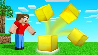 Every BLOCK You Place MULTIPLIES in MINECRAFT! (too many blocks)