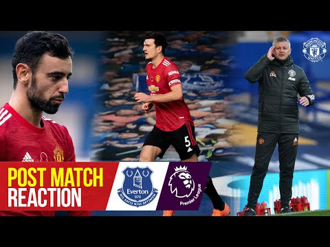 Solskjaer, Fernandes and Maguire react to Goodison Park win | Everton 1-3 Manchester United