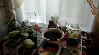 Рецепт компота из чёрной рябины/Очень вкусно и просто