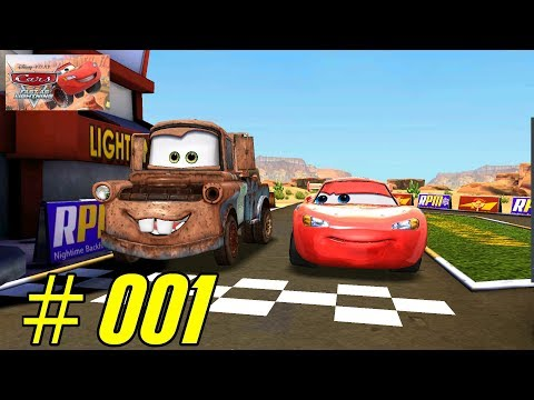 Cars: Fast As Lightning Android Walkthrough - Gameplay - Todd's Race Track #001