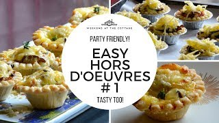 1 minute video! EASY HORS D'OEUVRES #1 | RECIPE
