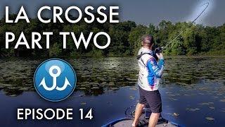 Frog Fishing Mississippi River | Elite Series La Crosse Part Two | Wheeler Fishing Episode 14